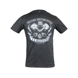 T-shirt Veleno Piston anthracite M