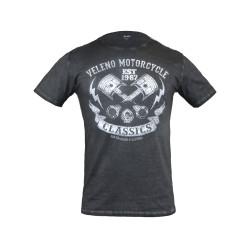 T-shirt Veleno Piston anthracite XL