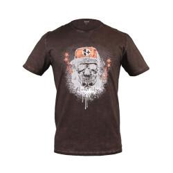 T-shirt Veleno Death Raser brun S