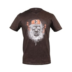 T-shirt Veleno Death Raser brun XL