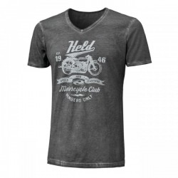 T-Shirt Held dame Smoke gris XXL