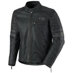 Blouson cuir Scott VTG antik noir XL