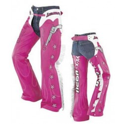 ICON KITTY CHAPS PINK  L