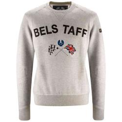 Belstaff Pull Flag Sweater Gris L