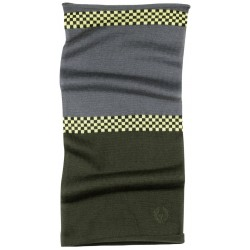 Belstaff Chequer Neck Warmer vert/gris