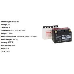 Batterie YTX12 BS YUASA