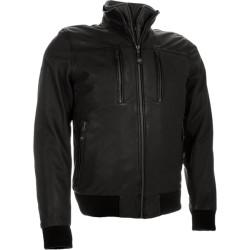 Richa veste cuir Lockheed noir mat 50
