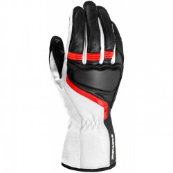 Gants Spidi Lady Grip 2 noir-blanc-rouge XXL