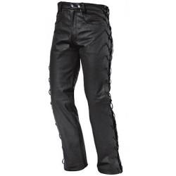 Pantalon cuir Lace dame 42 noir