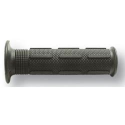 Poignées Ariete embouts ouverts 22mm noir