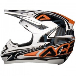 Acerbis On Way blanc-noir-orange XL