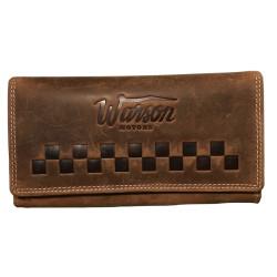 Warson Porte Monnaie Lady Tan brun