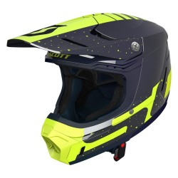 Scott 350 Evo Plus Team ECE bleu/jaune S