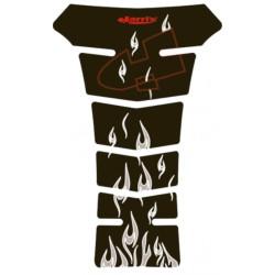 Protection réservoir Harri\'s Puzzle Evo black fire