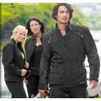 Richa veste cuir Sturgis noir 58 disponible chez aplusmoto